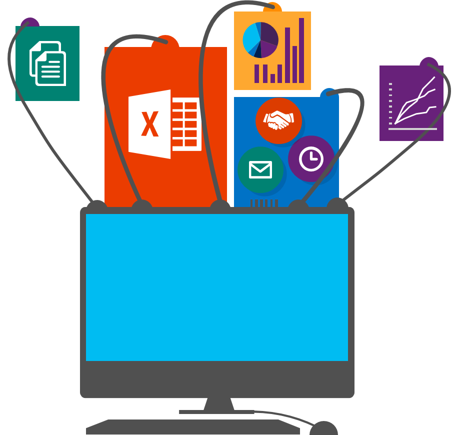 SharePoint Online connects you with MS Office Apps