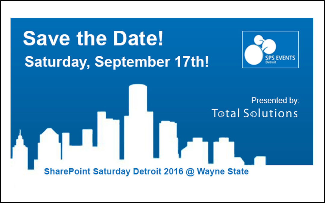 Join us for SharePoint Saturday!