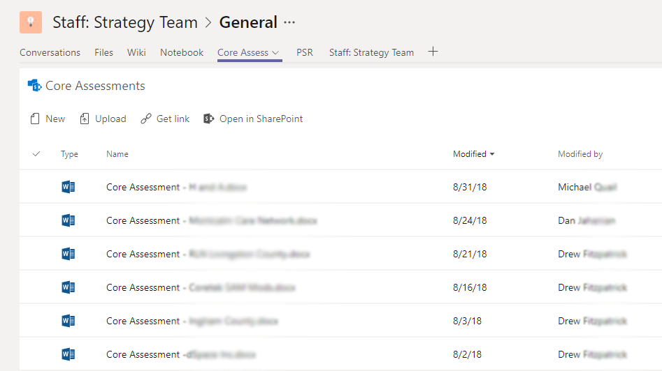Document Management in Microsoft Teams