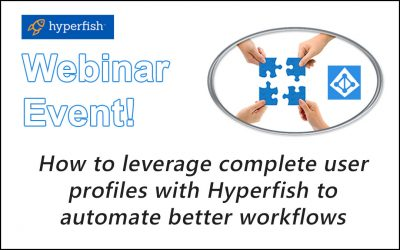New Webinar with our new partner Hyperfish! Thursday November 10th
