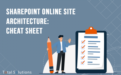 SharePoint Online Site Architecture: Cheat Sheet