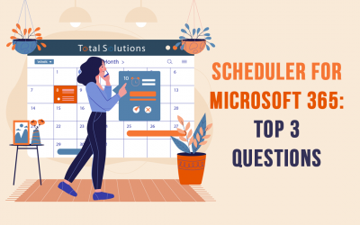 Scheduler for Microsoft 365: Top 3 Questions