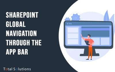 SharePoint Global Navigation Through the App Bar